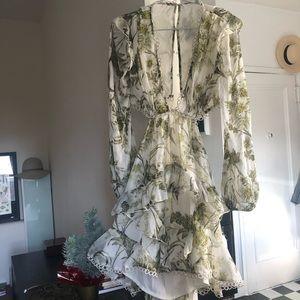 Asos Ruffle mini dress